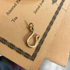 Urban Outfitters Jewelry - Golden Leo Astrological Symbol Charm for Necklace